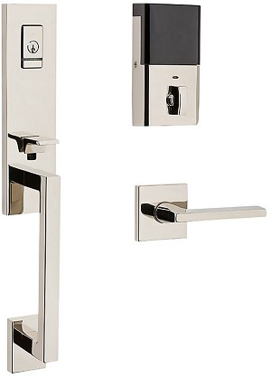 Baldwin Evolved Minneapolis 3/4 Escutcheon Handleset