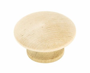Amerock Allison Value -  1 1/2 Inch Unfinished Wood Cabinet Knob