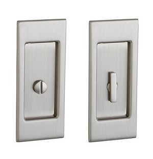 Baldwin Small Santa Monica Pocket Door Lock