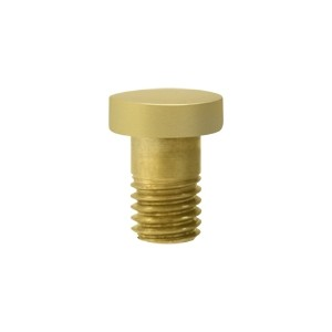 Deltana Solid Brass Extended Button Tip for Solid Brass Hinges