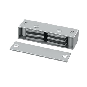 Deltana Steel 3 1/8 x 1 x 3/4 Inch Magnetic Catch