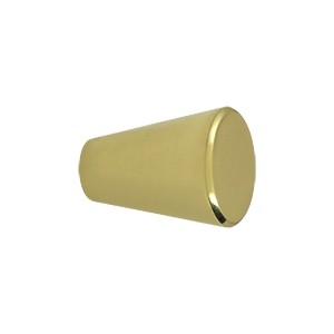 Deltana Solid Brass 1 Inch Cone Cabinet Knob