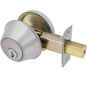 EZSet Grade I Commercial Single Cylinder Deadbolt