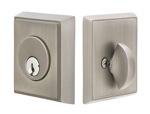 Emtek Rectangular Style Single Cylinder Deadbolt