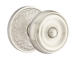 Emtek Waverly Knob with Lancaster Rosette