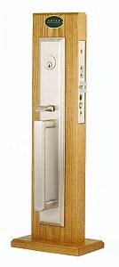 Emtek Melrose Mortise Entrance Handleset