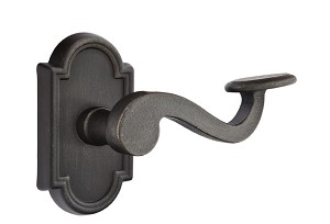 Emtek Lost Wax Padua Lever Handle with Style 11 Rosette
