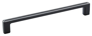 Galleria 54003 Silvered Black 305mm CC Appliance Handle
