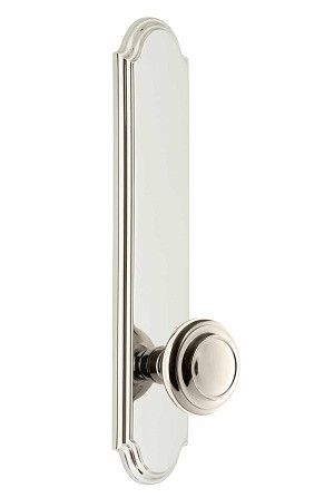 Grandeur Arc Tall Plate with Circulaire Knob