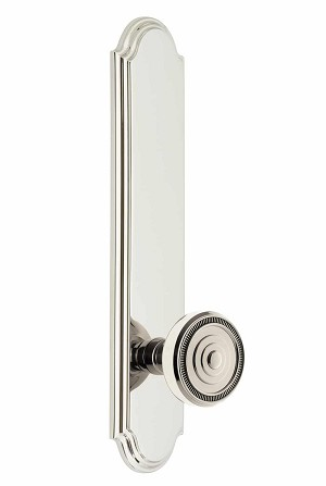 Grandeur Arc Tall Plate with Soleil Knob
