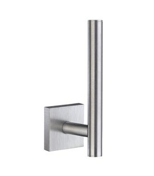 Smedbo House Collection Spare Toilet Roll Holder Wallmount - Brushed Chrome