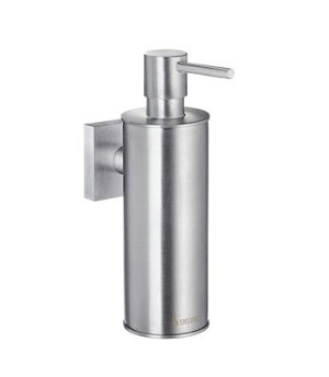 Smedbo House Collection Solid Brass Soap Dispenser Wallmount - Brushed Chrome