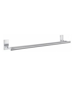 Smedbo Pool Collection Double Towel Rail - Polished Chrome