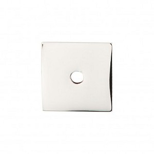 Top Knobs Sanctuary I Square Backplate 1 Inch - Polished Nickel