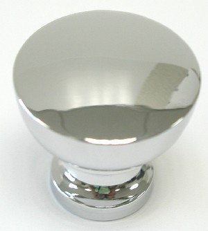 Top Knobs Nouveau III 1 1/4 Inch Cabinet Knob - Polished Chrome