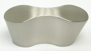 Top Knobs Nouveau III 2 1/8 Inch Cabinet Knob - Brushed Satin Nickel