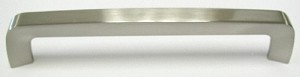 Top Knobs Nouveau III 6 5/16 Inch CC Tappered Bar Pull - Brushed Satin Nickel