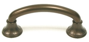 Top Knobs Edwardian 3 Inch CC Cabinet Pull - Oil Rubbed Bronze