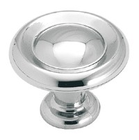 Amerock 1 1/4 Inch Polished Chrome Reflections Cabinet Knob