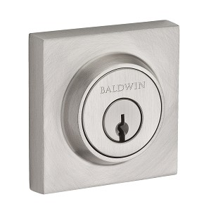 Baldwin Reserve Series Contemporary Square Single Cylinder Deadbolt