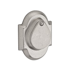 Baldwin Reserve Series Rustic Arch Double Cylinder Deadbolt