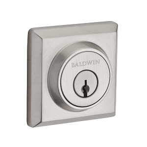 Baldwin Reserve Series Traditional Square Double Cylinder Deadbolt