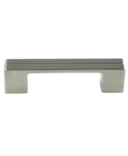 Berenson Skyline 96mm CC Pull in Brushed Nickel