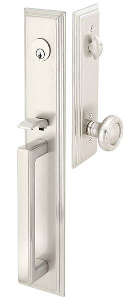 Emtek Door Hardware Emtek Melrose Entrance Handleset