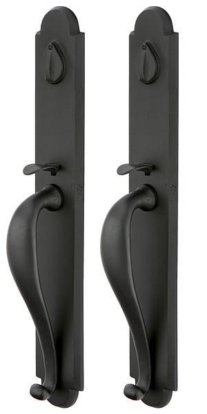 Emtek Door Hardware Emtek Sandcast Greeley Grip By Grip