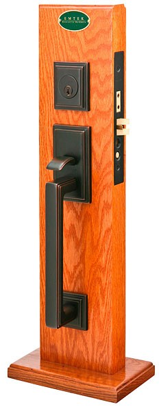 Emtek Door Hardware Emtek Mills Mortise Entry Handleset