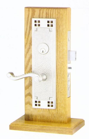 Emtek Craftsman Mortise Sideplate Locks