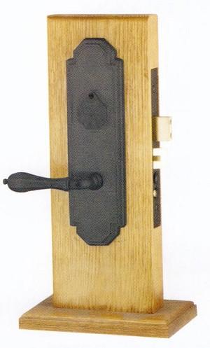 Emtek Door Hardware Emtek Octagon Mortise Sideplate Locks