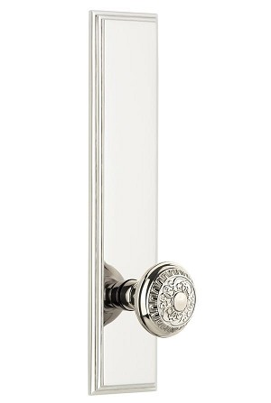Grandeur Carre Tall Plate with Windsor Knob