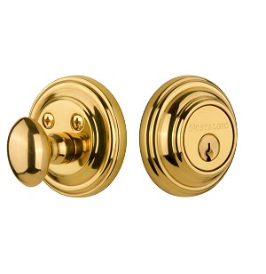 Nostalgic Warehouse Classic Single Cylinder Deadbolt
