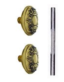 Nostalgic Warehouse Victorian Knobs ONLY with Spindle