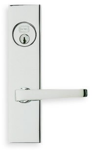 Omnia Max Steel Mortise Sideplate Lock Style 4036