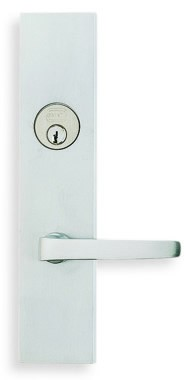 Omnia Max Steel Mortise Sideplate Lock Style 12036