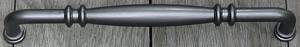 Rusticware 12 Inch CC Appliance Pull - Weathered Pewter
