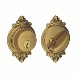 Schlage B60 Brookshire Style Single Cylinder Deadbolt