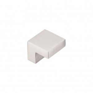 Top Knobs Asbury 1 Inch Square Cabinet Knob - Brushed Satin Nickel