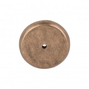 Top Knobs Aspen Round Backplate - Light Bronze