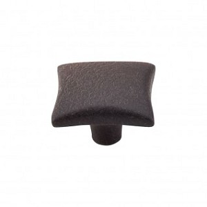 "Top Knobs Chateau 1 3/8"" Square Knob - Rust"