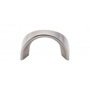 Top Knobs Nouveau II Cabinet Pull 1 1/4 Inch CC - Brushed Satin Nickel