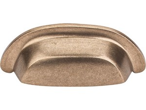 Top Knobs Aspen Collection 3 Inch CC Cup Pull - Light Bronze