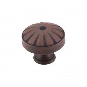 Top Knobs M1222 Hudson Knob 1 1/4 Inch- Patina Rouge