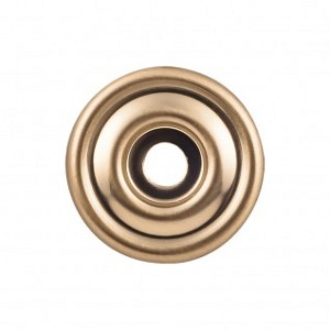 Top Knobs TK890HB Brixton 1 3/8 inch Backplate - Honey Bronze