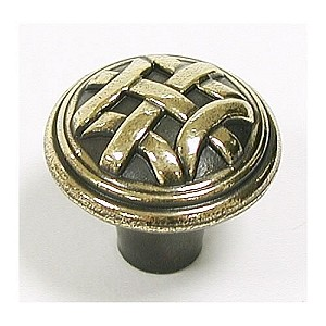 "Top Knobs Tuscany Celtic 1"" Small Knob - Dark Antique Brass"
