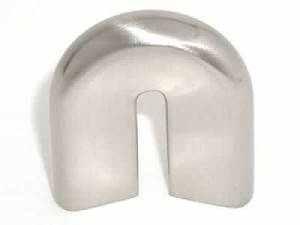 Top Knobs Nouveau II 20MM CC Cabinet Pull - Brushed Satin Nickel