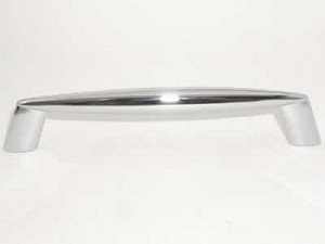 Top Knobs Nouveau II 5 1/16 Inch CC Cabinet Pull - Polished Chrome
