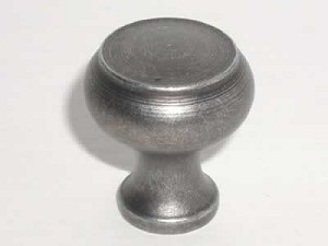 Top Knobs Normandy 1 1/8 Inch  Cabinet Knob - Pewter